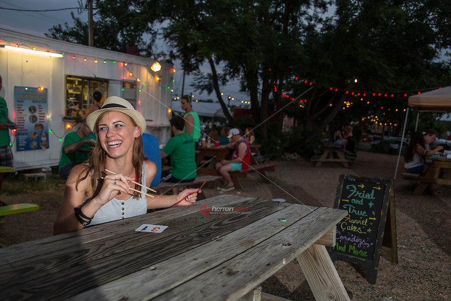 Food-court trailer parks are an Austin phenomenon in which multiple trailers cluster to create a dining destination.