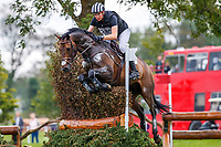 during the Cross Country for the Noel C. Duggan Engineering CCI4*-L. 2019 IRL-Millstreet International Horse Trials. Green Glens Arena. Millstreet. Co. Cork. Ireland. Saturday 24 August. Copyright Photo: Libby Law Photography