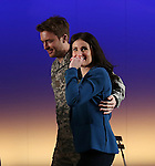 James Snyder and Idina Menzel during the Broadway Opening Night Performance curtain call for  'IF/THEN' at the Richard Rodgers Theatre on March 30, 2014 in New York City.