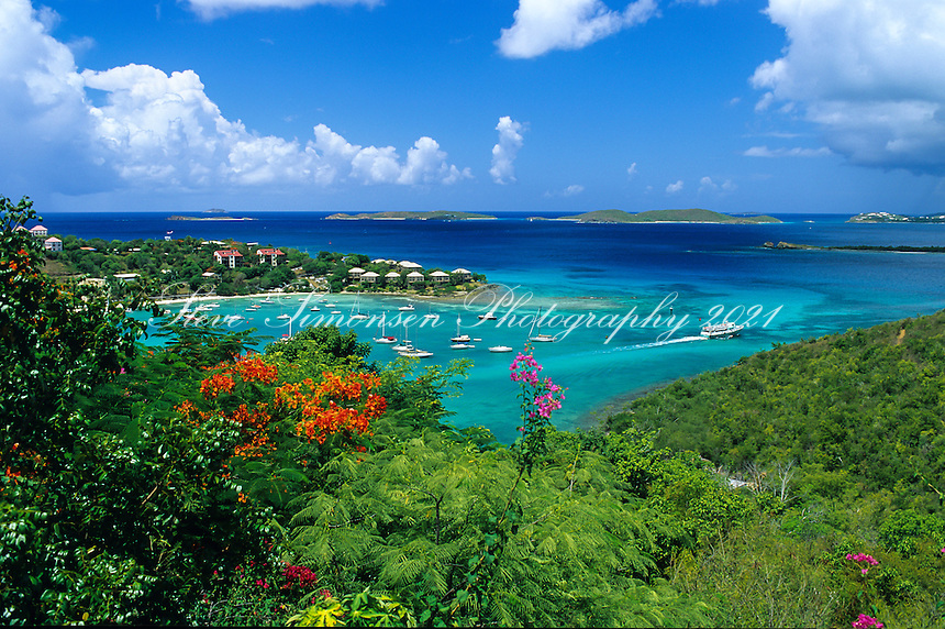 Cruz Bay Harbor<br />
