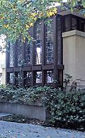 Frank Lloyd Wright, Architect. Hollyhock House.  Photo May 1982.