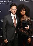 Steven Pasquale and Kerry Washington attends the Broadway Opening Night After Party for 'AMERICAN SON' at Brasserie 8 1/2 on November 4, 2018 in New York City.