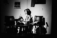 La piece de Michel Tremblay : Les Belles Soeurs, avril 1973 ou 1974 (date inconnue)<br /> <br /> Photo : Agence Quebec Presse - Alain Renaud