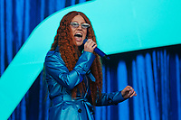 Pictured: Jess Glynne. Saturday 26 May 2018<br /> Re: BBC Radio 1 Biggest Weekend at Singleton Park in Swansea, Wales, UK.