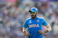 Jasprit Bumrah (India) during India vs Australia, ICC World Cup Cricket at The Oval on 9th June 2019