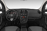 Stock photo of straight dashboard view of a 2015 Mercedes Benz Citan 109 Cdi 5 Places 5 Door Passenger Van Dashboard