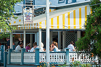 Carrol Villa Hotel restaurant, Cape May, NJ, USA