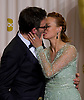 "MICHEL HAZANAVICIUS RECEIVES A KISS FROM BERENICE BEJO.from ""The Artist""at the 84th Academy Awards, Kodak Theatre, Hollywood, Los Angeles_26/02/2012.Mandatory Photo Credit: ©Dias/Newspix International..**ALL FEES PAYABLE TO: ""NEWSPIX INTERNATIONAL""**..PHOTO CREDIT MANDATORY!!: NEWSPIX INTERNATIONAL(Failure to credit will incur a surcharge of 100% of reproduction fees)..IMMEDIATE CONFIRMATION OF USAGE REQUIRED:.Newspix International, 31 Chinnery Hill, Bishop's Stortford, ENGLAND CM23 3PS.Tel:+441279 324672  ; Fax: +441279656877.Mobile:  0777568 1153.e-mail: info@newspixinternational.co.uk"