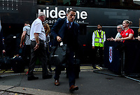 Phil Neville, manager of England Women arrives ahead of  the Women's International friendly match between England Women and Australia at Ashton Gate, Bristol, England on 9 October 2018. Photo by Bradley Collyer / PRiME Media Images.