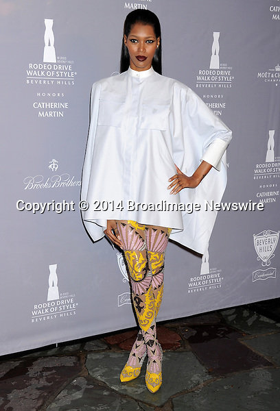 Pictured: Jessica White<br /> Mandatory Credit &copy; Gilbert Flores/Broadimage<br /> 2014 Rodeo Drive Walk of Style<br /> <br /> 2/28/14, Beverly Hills, California, United States of America<br /> <br /> Broadimage Newswire<br /> Los Angeles 1+  (310) 301-1027<br /> New York      1+  (646) 827-9134<br /> sales@broadimage.com<br /> http://www.broadimage.com