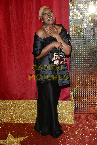 LONDON, ENGLAND - MAY 28: Lorna Laidlaw attends the British Soap Awards 2016 at Hackney Town Hall on May 28, 2016 in London, England.<br /> CAP/BEL<br /> &copy;BEL/Capital Pictures
