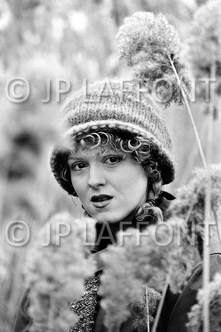 November 1979, Montreal, Quebec, Canada. American actress and singer Bernadette Peters.