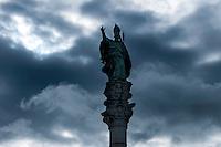 Lecce - Statua del protettore Sant'Oronzo.