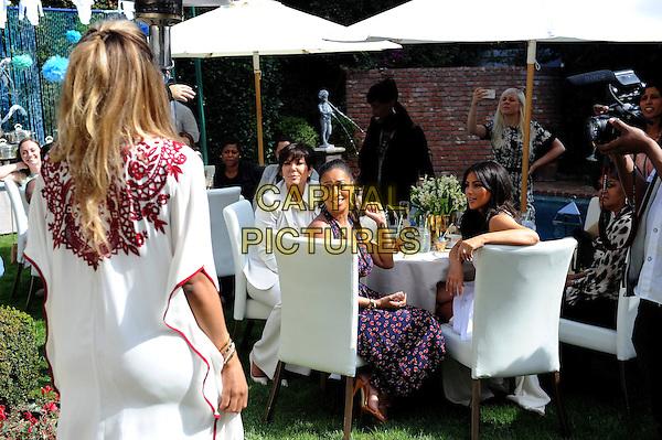 LOS ANGELES, CA   MARCH 22: (L R) Ciara, Kris Jenner,