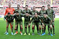 Cagliari team photo lines up <br /> Torino 27-10-2019 Stadio Olimpico <br /> Football Serie A 2019/2020 <br /> FC Torino - Cagliari Calcio <br /> Photo Giuliano Marchisciano / Insidefoto