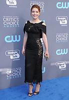 11 January 2018 - Santa Monica, California - Elena Satine. 23rd Annual Critics' Choice Awards held at Barker Hangar. <br /> CAP/ADM/BT<br /> &copy;BT/ADM/Capital Pictures