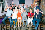 Surprise 40th Birthday party for  Tony Roche Tralee, celebrating with family and friend at the Greyhound Bar on Saturday