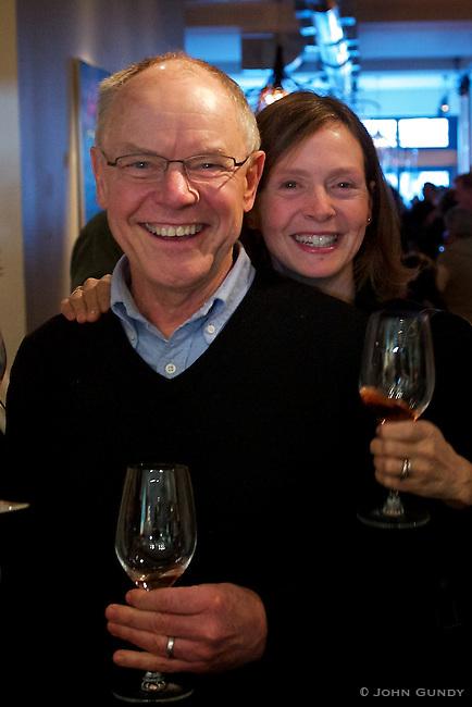 David Kirkwood, Slow Food..Sarah Crawford, Communications Consultant.