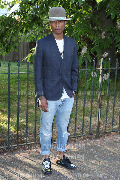 Pharrell Williams arriving for the Serpentine Summer Party, at the Serpentine Gallery, Hyde Park, London. 01/07/2014 Picture by: Alexandra Glen / Featureflash