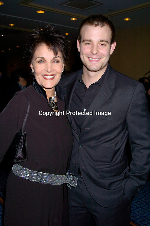 Linda Dano and Jay Wilkison..at HeartShare 's Annual Spring Gala on March 24, 2004 at the Marriott Marquis in New York City...Photo by Robin Platzer, Twin Images
