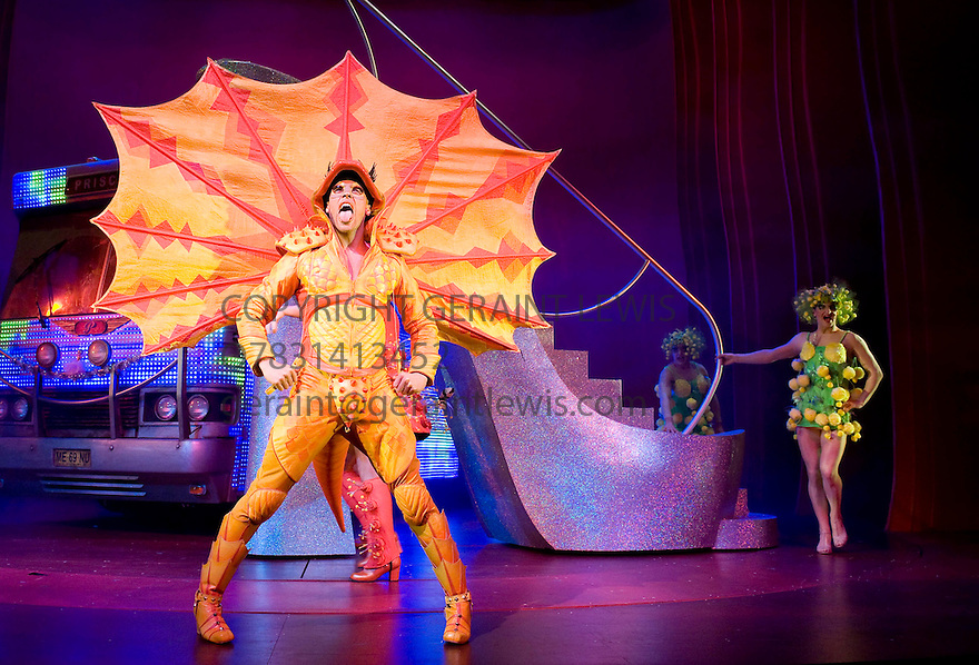 Priscilla Queen of the Desert The Musical.Written by Stephan Elliott and Allan Scott,directed by Simon Phillips.Opens at The PalaceTheatre on 23/3/09.  credit Geraint Lewis