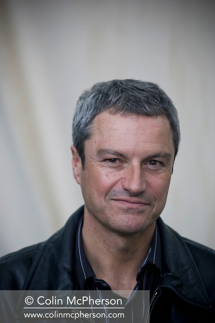 British broadcaster and journalist Gavin Esler pictured at the Edinburgh International Book Festival where he talked about his  career at the BBC. The three-week event is the world's biggest literary festival and is held during the annual Edinburgh Festival. 2008 was the Book Festival's 25th anniversary and featured talks and presentations by more than 500 authors from around the world.