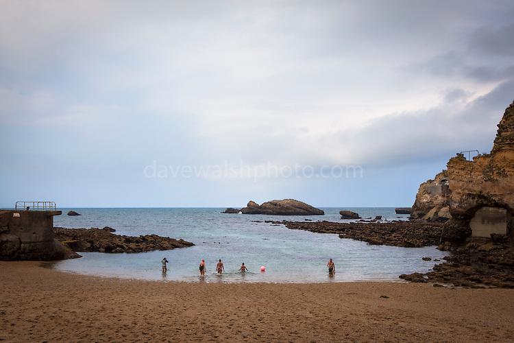 Plage de Port Vieux, Biarritz, Pays Basque, France