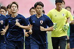 Shinji Kagawa (JPN), SEPTEMBER 5, 2016 - <br /> Football / Soccer : Japan training session ahead of the FIFA World Cup Russia 2018 Asian Qualifier <br /> Final Round match agansit Thailand at Rajamangala National Stadium, Bangkok, Thailand.<br /> (Photo by Yusuke Nakanishi/AFLO SPORT)