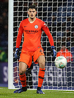 Manchester City's Arijanet Muric <br /> <br /> Photographer Andrew Kearns/CameraSport<br /> <br /> English League Cup - Carabao Cup Quarter Final - Leicester City v Manchester City - Tuesday 18th December 2018 - King Power Stadium - Leicester<br />  <br /> World Copyright &copy; 2018 CameraSport. All rights reserved. 43 Linden Ave. Countesthorpe. Leicester. England. LE8 5PG - Tel: +44 (0) 116 277 4147 - admin@camerasport.com - www.camerasport.com