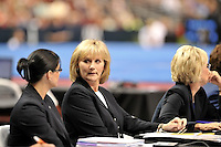 6/20/08 - Photo by John Cheng for USA Gymnastics.  Olympic Trials Day 1 Women Competition take place at Wachovia Center in Philadelphia.Important People