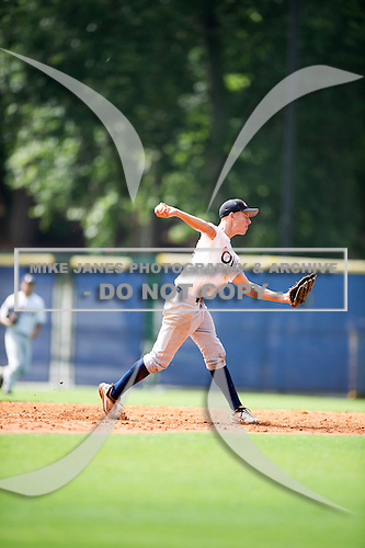 Mason Ewers #14 during the Team One South Showcase presented by Baseball Factory at Chappell Park on July 14, 2012 in Atlanta, Georgia.  (Copyright Mike Janes Photography)