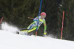 10.03.2018, Ofterschwanger Horn, Ofterschwang, GER, Slalom Weltcup in Ofterschwang, im Bild Ana Bucik (SLO, #21)<br /> <br /> Foto &copy; nordphoto / Hafner