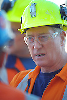 Chief inspector of extractives, Tony Forster.Worksafe High Hazard Unit photoshoot at Waterview Tunnel, Auckland, New Zealand on Wednesday, 19 March 2014. Photo: Dave Lintott / lintottphoto.co.nz
