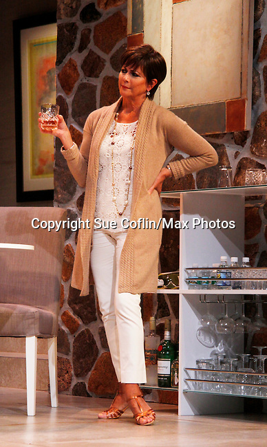 "As The World Turns' Colleen Zenk stars in ""Other Desert Cities"" at the tech rehearsal (in costume) on October 14, 2015 at Whippoorwill Halll Theatre, North Castle Library, Kent Place, Armonk, New York.  (Photo by Sue Coflin/Max Photos)"