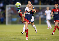 Boyds, MD - Saturday May 07, 2016: Washington Spirit defender Megan Oyster (4) during a regular season National Women's Soccer League (NWSL) match at Maureen Hendricks Field, Maryland SoccerPlex. Washington Spirit tied the Portland Thorns 0-0.