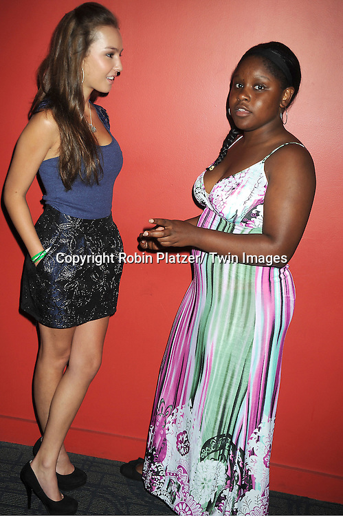 """Lexi Ainsworth and Shenell Edmonds  attend the screening of new documentary """"Soap Life"""" on September 4, 2012 at the Sunshine Landmark Theatre in New York City."""