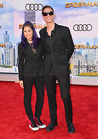 Mari Takahashi &amp; Peter Kitch at the world premiere for &quot;Spider-Man: Homecoming&quot; at the TCL Chinese Theatre, Los Angeles, USA 28 June  2017<br /> Picture: Paul Smith/Featureflash/SilverHub 0208 004 5359 sales@silverhubmedia.com