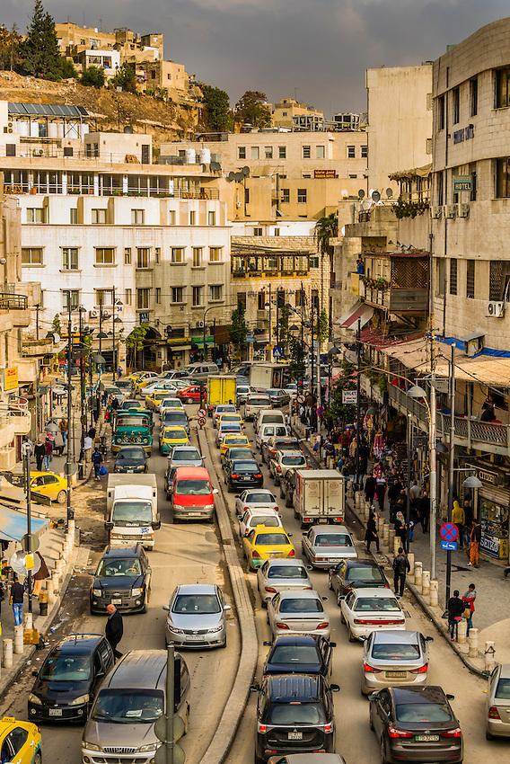 Street scene, Amman, Jordan.