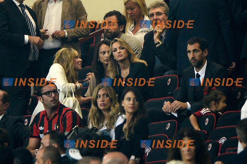 Francesca Pascale<br /> Milano 20-09-2014 Stadio Giuseppe Meazza - Football Calcio Serie A Milan - Juventus. Foto Giuseppe Celeste / Insidefoto