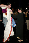 Rommy Sandhu ( Gypsy Winner for Bombay Dreams ) gets the Robe from Merwin Foard ( Gypsy Winner from Assassins)<br />