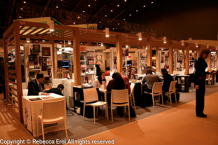 Turkish publishers at the London Book Fair 2012