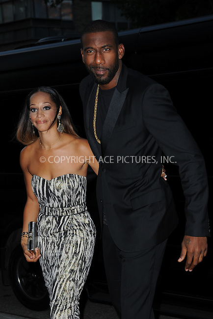 WWW.ACEPIXS.COM<br /> September 22, 2014 New York City<br /> <br /> Amar'e Stoudemire and Alexis Welch attending 'The Equalizer' New York Screening at AMC Lincoln Square Theater on September 22, 2014 in New York City.<br /> <br /> By Line: Kristin Callahan/ACE Pictures<br /> ACE Pictures, Inc.<br /> tel: 646 769 0430<br /> Email: info@acepixs.com<br /> www.acepixs.com