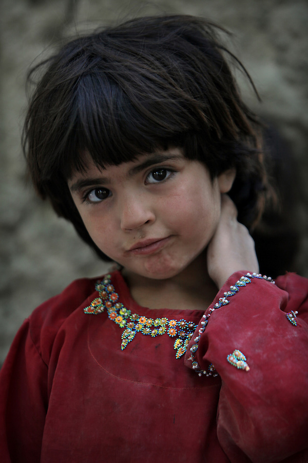 Afghan Pashtun children in Helmand Province.