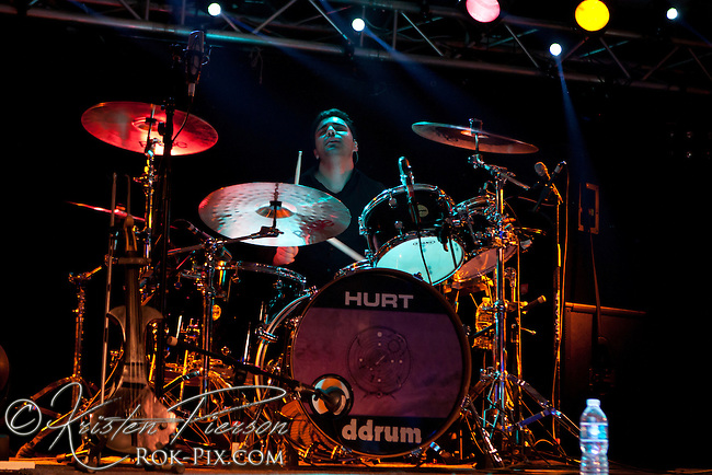 HURT perform at The Rock Junction in Coventry,  Rhode Island on November 14, 2012