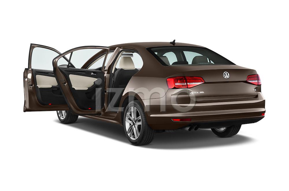 Car images of a 2015 Volkswagen Jetta 2.5L SEL 4 Door Sedan Doors