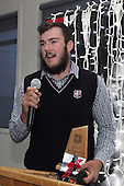 Under 19 Most Improved Player of the Year David O'Connell. Counties Manukau Rugby Unions Senior Prize giving held at ECOLight Stadium Pukekohe on Wednesday November 2nd, 2016.<br /> Photo by Richard Spranger.