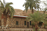 Israel, Eilat Mountains, Williams House in Nahal Shlomo