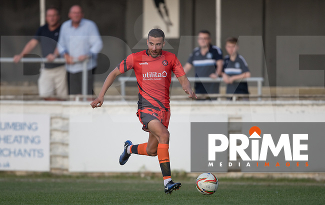 Nick Freeman of Wycombe Wanderers during the 2018/19 Pre Season Friendly match between Chesham United and Wycombe Wanderers at the Meadow , Chesham, England on 24 July 2018. Photo by Andy Rowland.