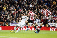 Real Madrid CF vs Athletic Club de Bilbao (5-1) at Santiago Bernabeu stadium. The picture shows Sami Khedira. November 17, 2012. (ALTERPHOTOS/Caro Marin) NortePhoto