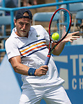 August 4,2018:   Denis Kudla (USA) loses to Andrey Rublev (RUS) 6-1, 6-4, at the CitiOpen being played at Rock Creek Park Tennis Center in Washington, DC, .  ©Leslie Billman/Tennisclix/CSM